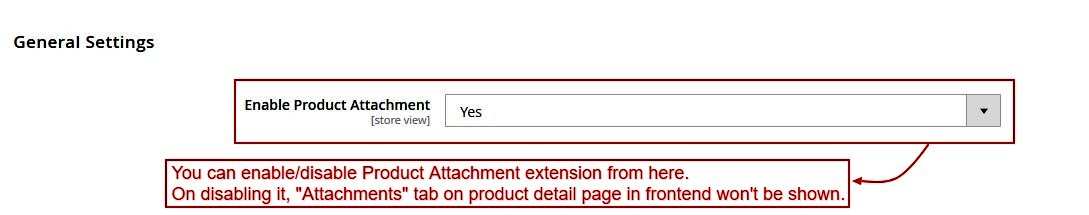 Product Attachment
